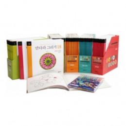 [도서] 학지사 행복한 만다라 그리기 시리즈 set(전50권)