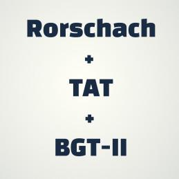 Rorschach test + TAT + BGT-II  세트구입