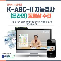 K-ABC-II 동영상 수련(카우프만 유아지능검사)